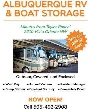 RV Storage Albuquerque